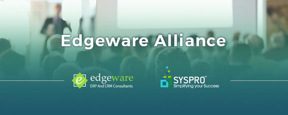 SYSPRO Edgeware Alliance